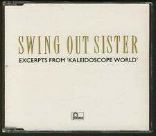 SWING OUT SISTER Excerpts From Kaleidoscope World 4 TRACK 1989 PROMO CD SINGLE