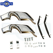 1967 1968 Camaro Front Chrome Bumper Guard & Inserts Kit with Mounting Hardware