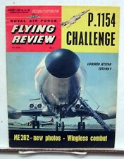 Jan 1963 ROYAL AIR FORCE FLYING REVIEW Magazine