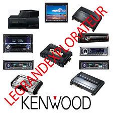 Ultimate Kenwood  Car Audio Radio  Repair & Service Manuals (PDFs manual s DVD)
