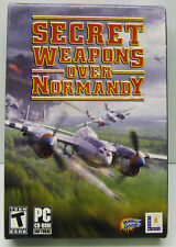 SECRET WEAPON OVER NORMANDY 2003 LUCASFILMS PC CD-ROM FACTORY SEALED  RETAIL BOX