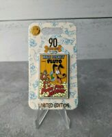 Disney Pluto 90th Anniversary Pin Food for Feudin Chip and Dale Limited Edition