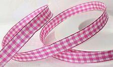 3 meter Karoband pink Vichy Karo Schleifenband Dekoband Bänder Shabby chic