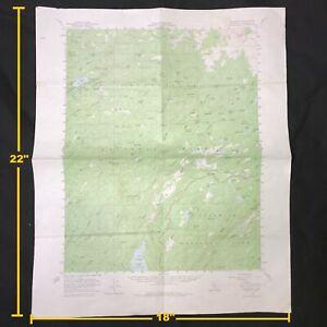 USGS Pinecrest California - Tuolumne Vintage 1956 Topographic Map