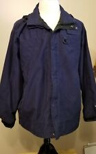 Field and Stream  Mens Lightweight Navy Blue Jacket Large Hydro Proof