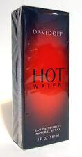 DAVIDOFF HOT WATER MEN PERFUME EDT SPRAY 60 ML / 2 FL OZ SEALED BOX
