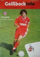 Programm Friendly 6.7.1997 Union Berlin TSV 1860 München