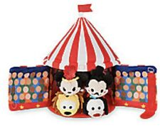 NWT Authentic circus House set 4pc tsum tsum micro SHANGHAI DISNEY STORE 2017