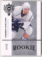 ANDREW COGLIANO RC 07-08 UPPER DECK THE CUP ROOKIES PLATINUM #14/25 OILERS