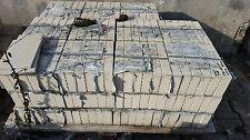 Werkstattfliesen 40mm Stärke weiß-grau, kompletter Rest 210Stck , R12, 24x11,5cm