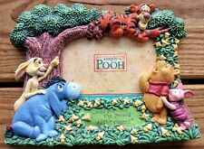 Disney Simply Pooh Picture Frame with Winnie The Pooh Piglet Rabbit and Tigger