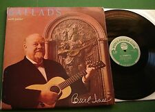 Burl Ives Ballads with Guitar inc Irish Rover / Pirate Song + T302 LP
