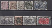 CP7437/ GERMANY REICH – 1875 / 1913 USED LOT – CV 245 $
