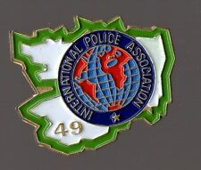 Pin's Police / IPA 49 (International Police Association Maine Et Loire)