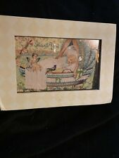 Victorian Vintage The Gifted Line John Grossman Christmas Note Card Thank You
