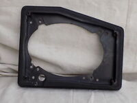 Speaker Mounting Frame Bracket RH Passenger 1985 BLACK C4 14057548