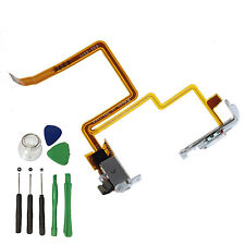 White Headphone Audio Jack Hold Switch Flex Cable For iPod Video 5 5.5th 60 80GB