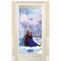 Disney's Frozen Classic Children's Birthday Party Door Banner Poster Decoration