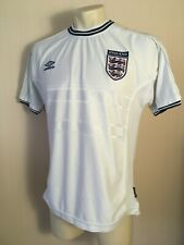 England national team 1999/2000/2001 home Size L football shirt jersey soccer