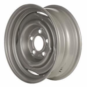 Steel Wheel 15X6 Silver 5X5 Bolt Pattern