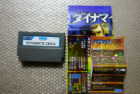 Dynamite Deka + Flyers Sega STV Arcade Game Japan