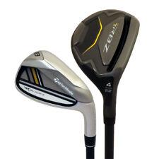 NEW TaylorMade Golf RocketBladez RBZ Black 4-PW Hybrid Irons Graphite Regular