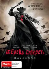 JEEPERS CREEPERS 3 RAVENOUS DVD, NEW & SEALED, 2018 RELEASE, FREE POST