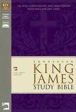 Zondervan King James Study Bible by Zondervan Staff (2002, Leather, Revised)