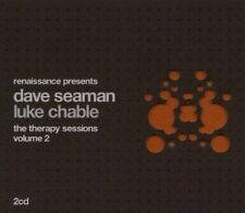 Dave Seaman & Luke Chable - Therapy Sessions SEALED 2CD Tears For Fears Uberzone