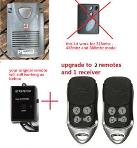 compatible Gliderol Garage Door Remote tm305c glidermatic grd receiver 2 remotes