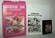 DODGE'EM GIOCO USATO BUONO STATO ATARI VCS 2600 EDIZIONE AMERICANA FR1 42858