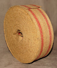 """11"""" Roll Of Heavy Duty Burlap Upholstery Webbing 3 1/2"""" Wide For Chairs & Sofas"""
