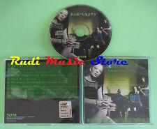 CD ANDROGYNY GARBAGE MUSE SIGUR ROS GLOSS MAXIM SKIN 2001 tutto 9(C5*)no lp mc