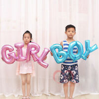 Boy Girl - Pink Blue Foil Balloons Birthday Party Inflatable Helium Baby Shower