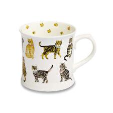 Cooksmart Cats on Parade China Mug 450ml Tea Coffee Drink Gift Kitchen Dining
