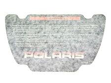 1999 Polaris 7078378 Oem Personal Watercraft Decal Warning - Dash (Fits: Polaris)
