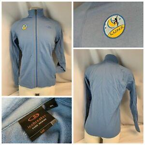 Icebreaker EX{ Pure Merino Cycling Jacket S Blue New Zealand Wool YGI D1-112