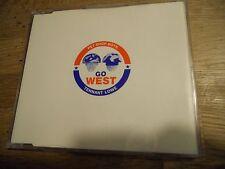 """PET SHOP BOYS """"GO WEST"""" 1993 RARE 3 TRACKS CD SINGLE REMIXES PARLOPHONE RECORDS*"""