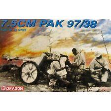 Dragon 6123 GERMAN 7.5 cm PAK 97/38 1/35 Kit Modellino in scala in plastica