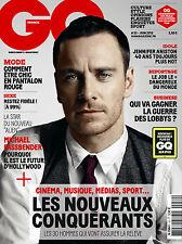 GQ Magazine FRENCH,Michael Fassbender,Jennifer Aniston,Kristen Stewart Twilight