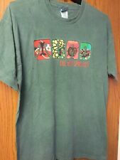 "Toad The Wet Sprocket -  ""Dulcinea"".   1999 Green Shirt.  XL."