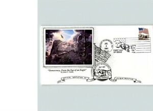 NICE! MOUNT RUSHMORE National Monument 1991 First Day of Issue, pictorial cancel