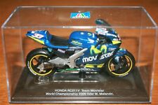 MARCO MELANDRI HONDA RCV 2005 PROTAR 1:22 IXO Motorbike - Rare