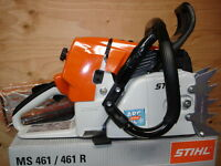 STIHL MS461 ARCTIC CHAINSAW HEATED WRAP 32 LIGHT BAR/CHAIN 046 044 MS 461 MS441