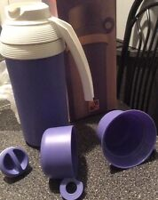 Tupperware RARE Duo Therm Jug Thermos. NEW in Box