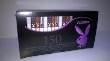 Une boîte de 150 Tubes à cigarettes Playboy assortis