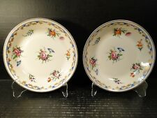 """TWO Syracuse Lady Louise Soup Bowls 7 1/2"""" Set of 2 EXCELLENT"""