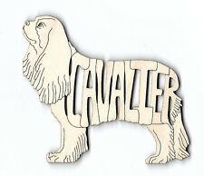Cavalier King Charles Spaniel Dog wood Magnet