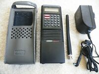 Uniden BC200XLT Scanner W/New High Output Battery