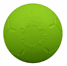 Jolly Pets Soccer Ball Green 6 inch | Apple Scented Rubber Chew Toy for Dogs